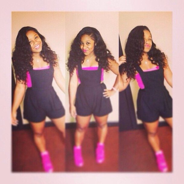 Shorts: reginae carter, dress, shoes, jumpsuit, romper ...