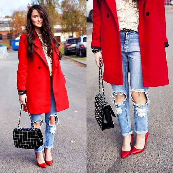 shoes high heels jeans coat bag Choies