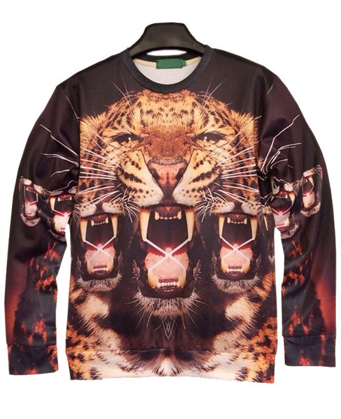 Fierce Multi Leo Sweatshirt | Outfit Made