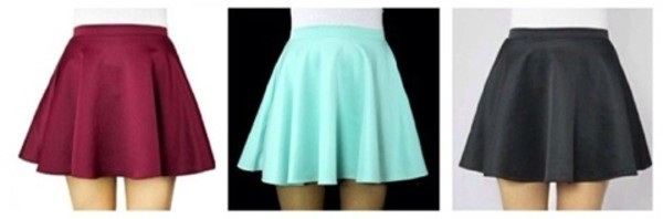 skirt blue skirt black white lovely