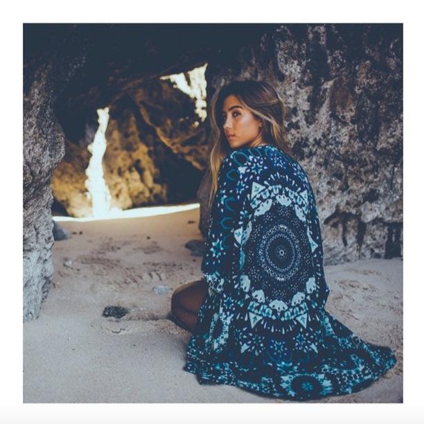 Mandala Kimono - Hobo & Hatch