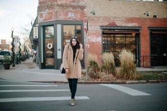 themiddlecloset blogger coat jeans sweater shoes bag sunglasses teddy bear coat faux fur coat booties winter outfits