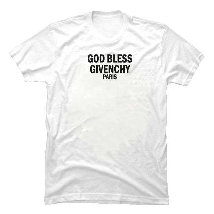 god bless givenchy paris t shirt tees shop. Black Bedroom Furniture Sets. Home Design Ideas