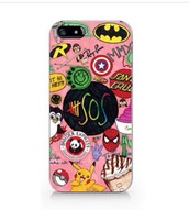 phone cover,starbucks coffee,5 seconds of summer,pokemon,spider-man,captain america,panda express,phone