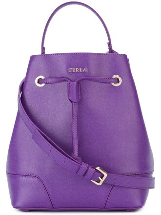 purple pink bag