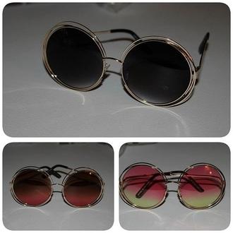 sunglasses sunnies accessories accessory round sunglasses retro sunglasses 70s style boho boho chic bohemian hippie coachella festival