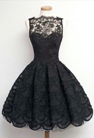 dress little black dress lace dress sexy dress style prom dress black dress grunge pastel goth goth emo short dress homecoming dress lace mesh cute girly puffy dress teenagers sexy elegant classy adorable outfit stylish clothes black girl cute dress delicate proper