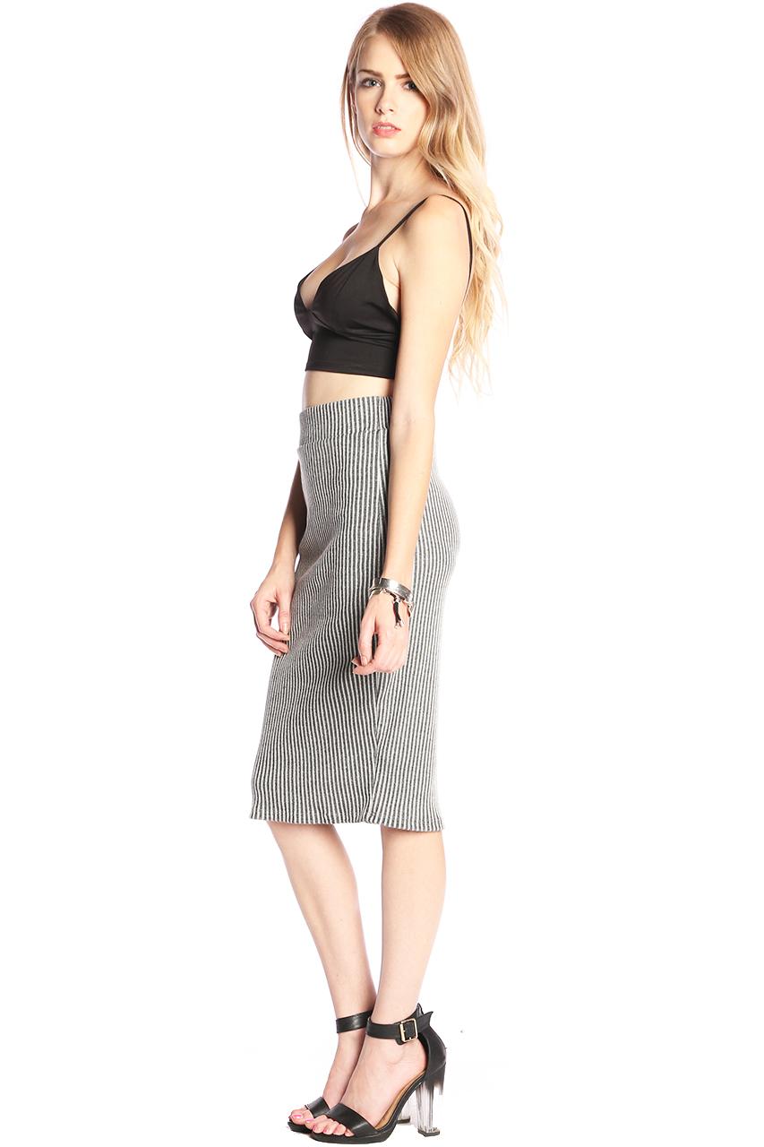 Clothing / skirts / eileen rib midi skirt