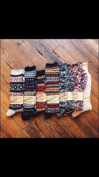 socks christmas  fuzzy socks cute socks cotton warm boots