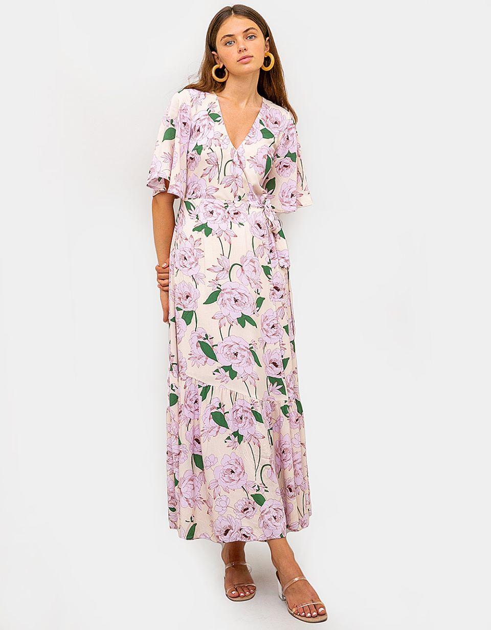 Lavanda Maxi Dress