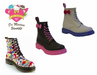 shoes hello kitty drmartens