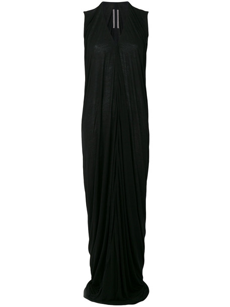 dress maxi dress maxi women draped black silk