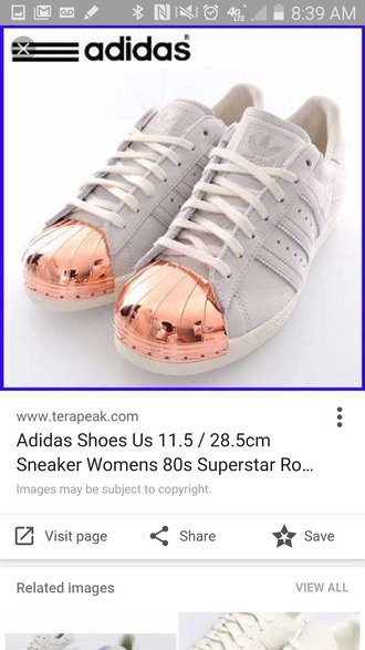 shoes adidas superstars metallic toe grey sneakers adidas