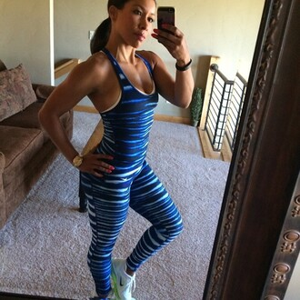 jumpsuit athletic zebra print animal print fitness one piece pattern nike sportswear