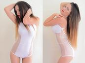 underwear,bodysuit,one piece,white bodysuit,lingerie