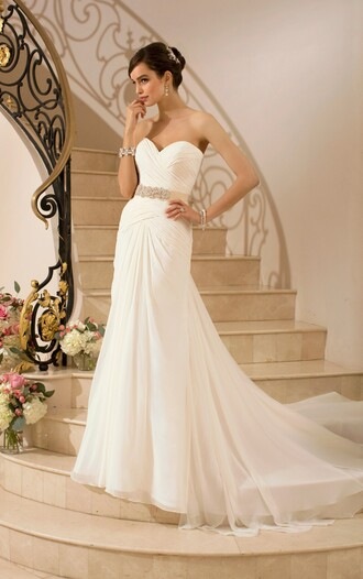 dress wedding dress wedding clothes beach wedding dress white beach dress white wedding dresses