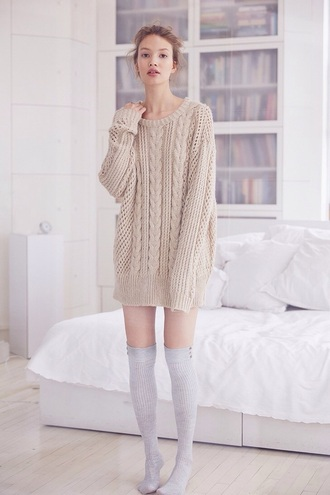 sweater dresssweater cable knit oversized sweater