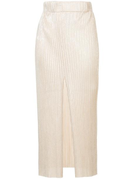 Alice McCall skirt metallic women grey