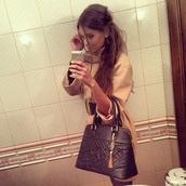 dress,belt,beige,elegant dress,bag