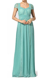 bcbg aris pleated evening gown blue,dress