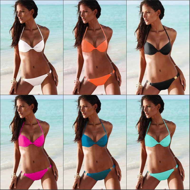 Hot !!! Women Sexy Bikini Swimwear Victoria Beachwear Ladies' Swimwear Free Shipping Drop Shipping-in Bikinis Set from Apparel & Accessories on Aliexpress.com