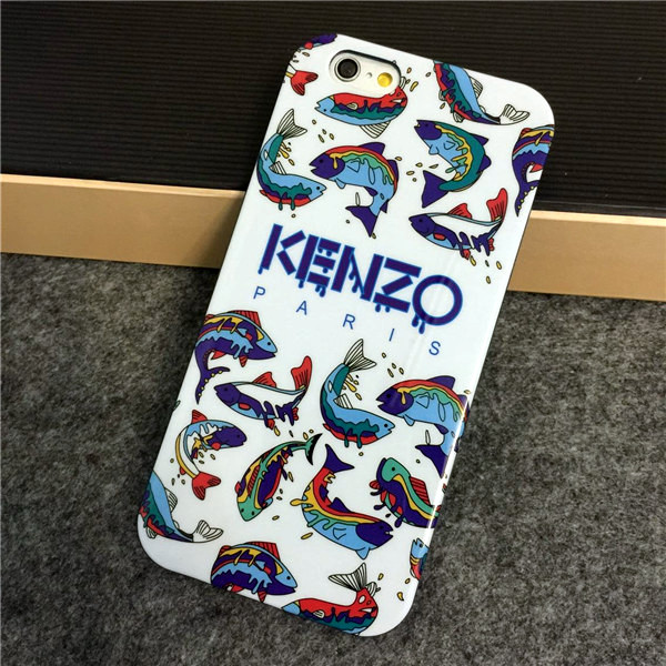 coque kenzo rigide pour iphone 5 6 6 plus 6s 6s plus poisson de mer iphone 119. Black Bedroom Furniture Sets. Home Design Ideas
