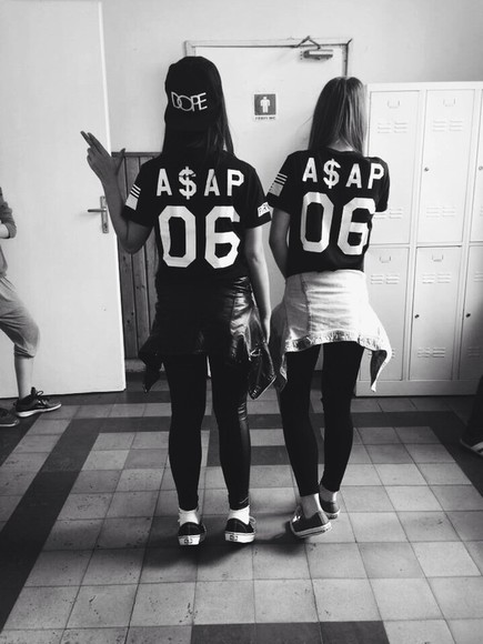 shirt t-shirt snapback a$ap black black white grey dope number jersey leather all black converse vans asap rocky gun locker nike