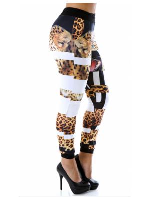 Bottoms : Leopard Paw Pants