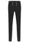 Black floral skinny pants