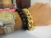 jewels,trendy,black chain bracelet,chain jewelry,jewelry,fashion jewelry,chain bracelet,gold chain bracelet,wrap bracelet