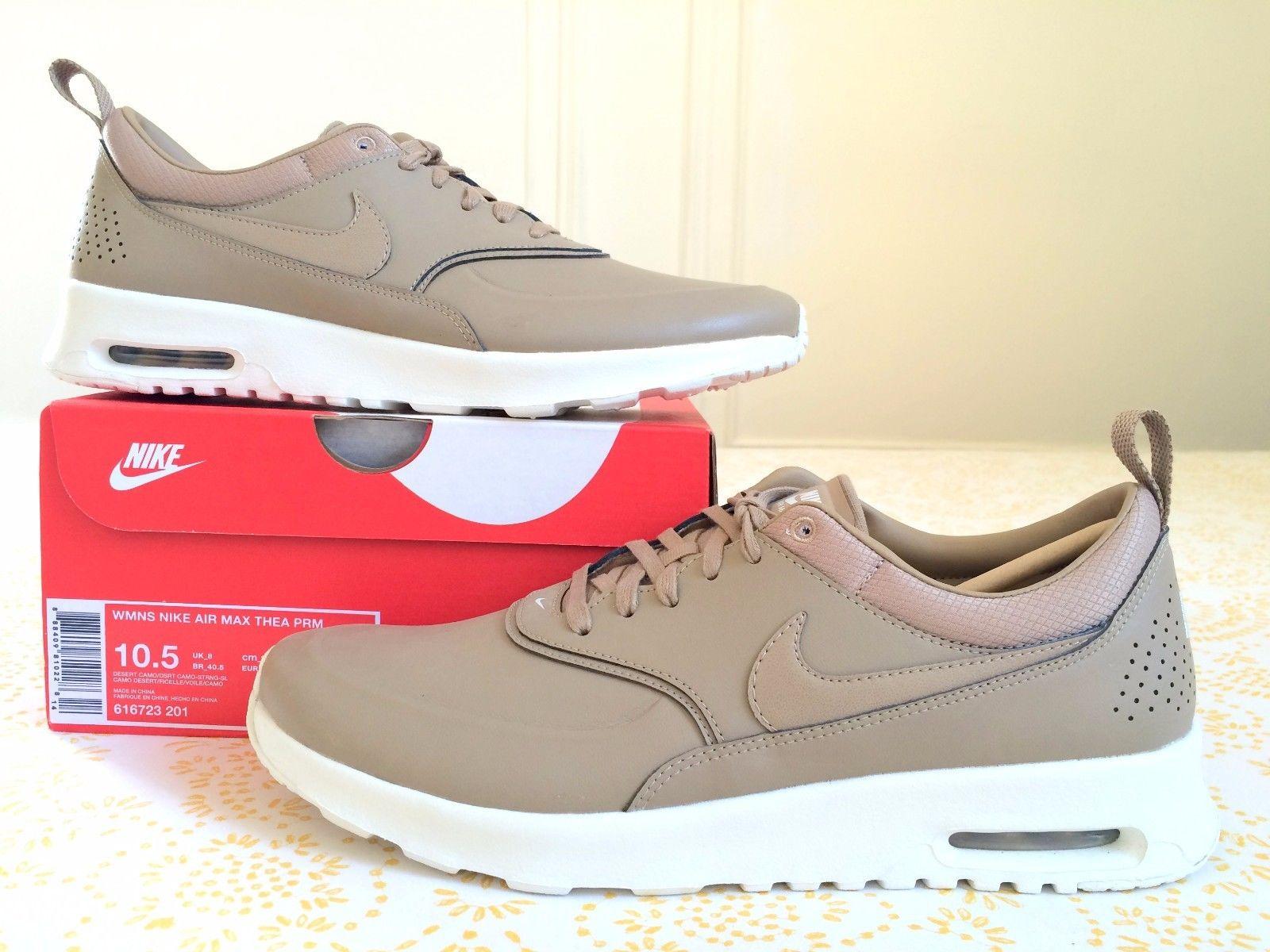 half off 6c45b 59114 Nike Women's Air Max Thea Premium Desert Camo Womens Sizes 10 5 11 5 US Tan  ...