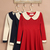 Women FANCYQUBE Vintage Peter Pan Collar Doll Collar Slim Fit Long Sleeve Dress | eBay