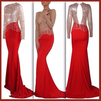 dress lost souls red dress long red dress long red prom dress red gown gold gown gold dress gold glitter red sheer dress prom pretty stunning dress special occasion dress gown prom dress ball gown dress beautiful dresses beautiful gowns gold lace prom dress