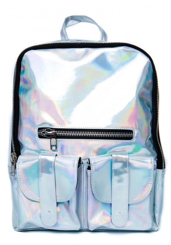 Aliexpress.com : buy women's hologram backpack shoulder message bag laser silver student's school backpack travel/party bag from reliable bag crown suppliers on *v*luckycat*v*