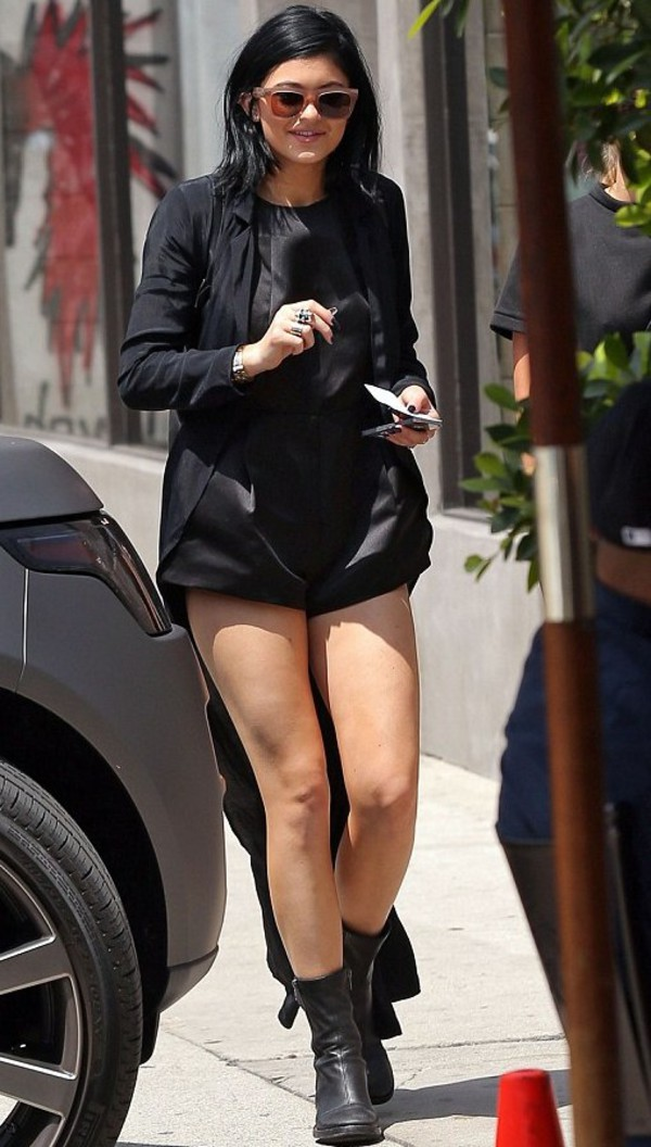 shoes kylie jenner boots chunky boots sunglasses
