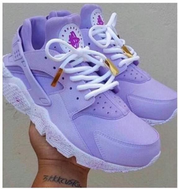 shoes lavender / light purple huaraches s