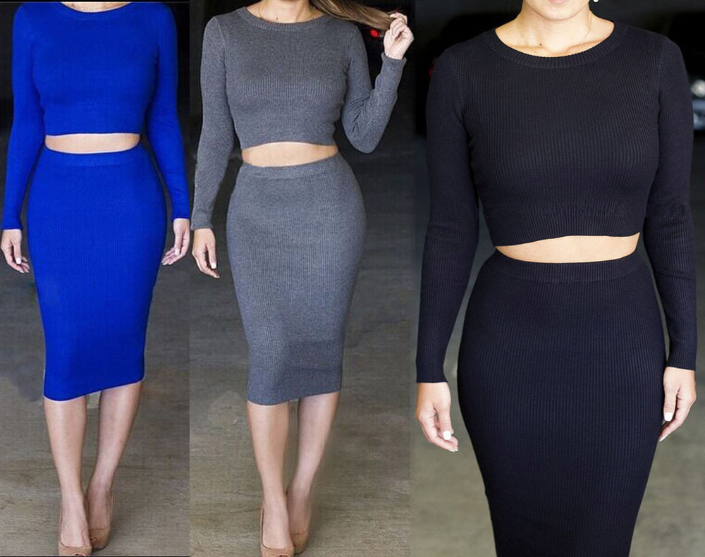 Piece dress club bodycon bandage long sleeve o