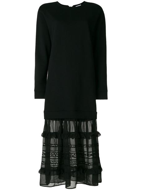 P.A.R.O.S.H. dress maxi dress maxi women cotton black