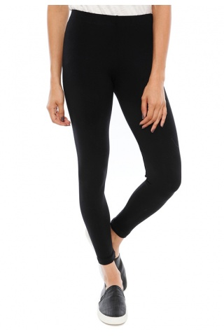 David lerner basic leggings in charcoal