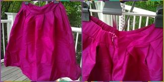skirt aliexpress midi skirt skater skirt free shipping rose pink