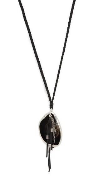 stone necklace necklace pendant black jewels