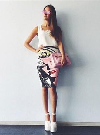 skirt plaid skirt skater skirt midi skirt black skirt mini skirt maxi skirt pencil skirt pleated skirt blue skirt lookbook set lingerie set matching set 2 piece skirt set 2 piece short set crop top and skirt set print