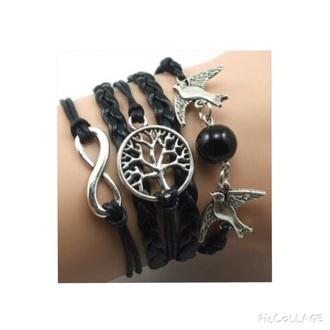 jewels bracelets black cool