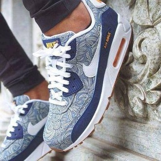 shoes nike air nike shoes liberty trainers blue shoes white shoes air max nike nike sneakers pattern