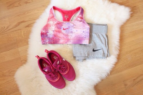 shoes shorts top