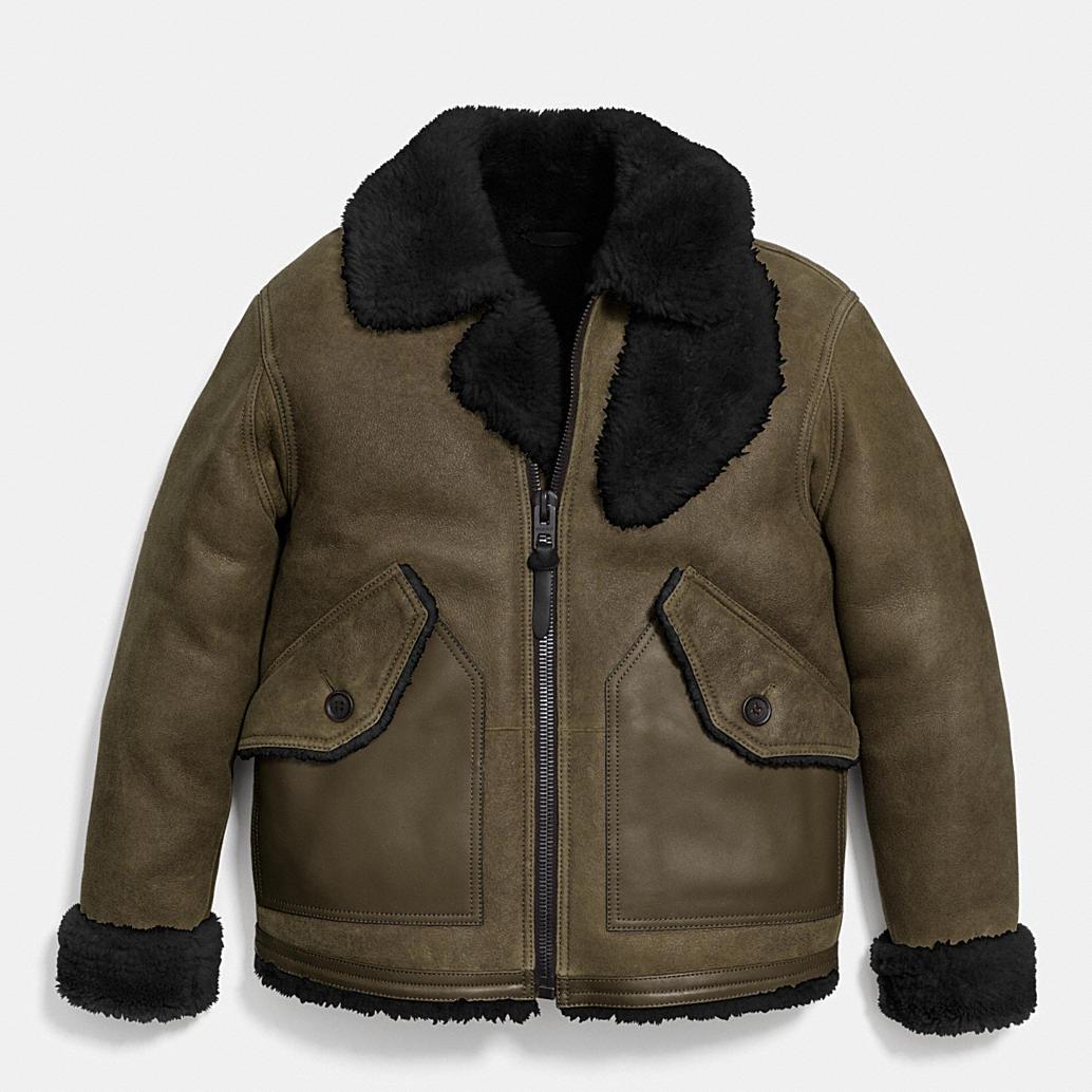 Shearling B3 Bomber Jacket