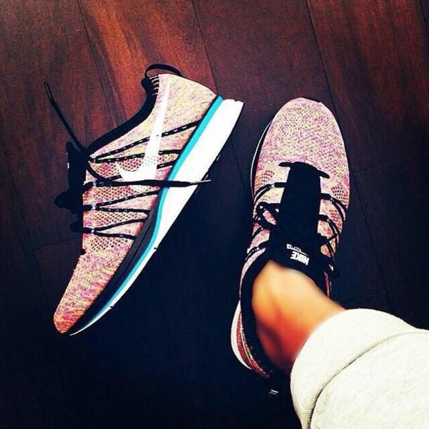 shoes yellow nike running shoes nike shoes pink black stripe