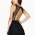 A-line Hollow Backless Mini Dress : KissChic.com