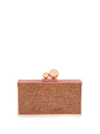 embellished clutch pink bag
