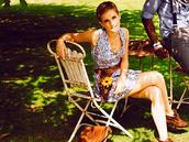 dress,short dress,emma watson,floral,blue dress,short party dresses,country dress